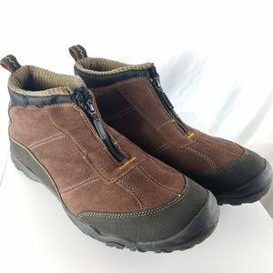 Men's Clarks Soft Cushion Brown Slip on Shoes